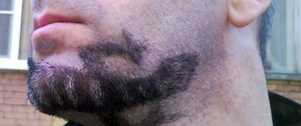 Модное оформление бороды без усов