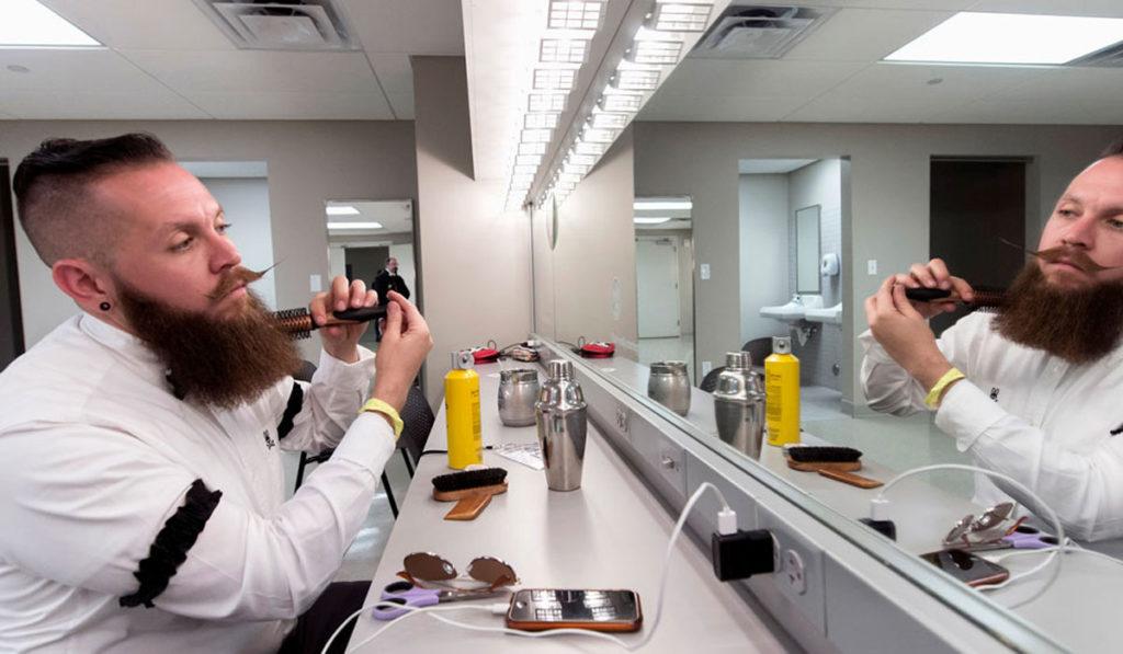 правила ухода во время отращивания бороды