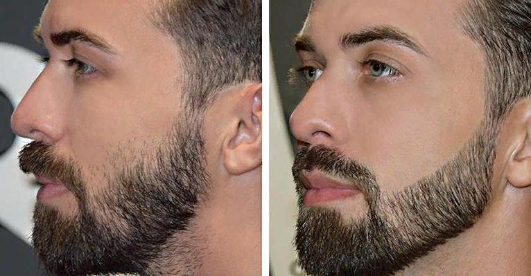 окантовка при стрижке бороды