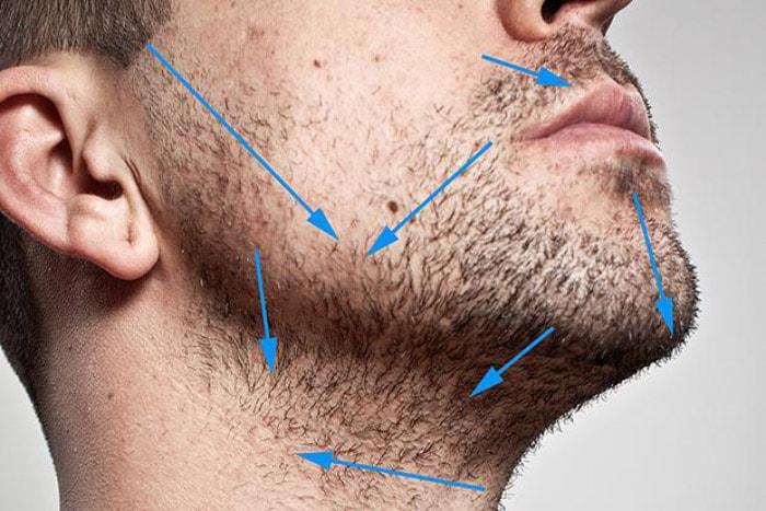 Как правильно брить шею