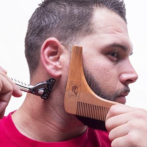 шаблон для стрижки бороды