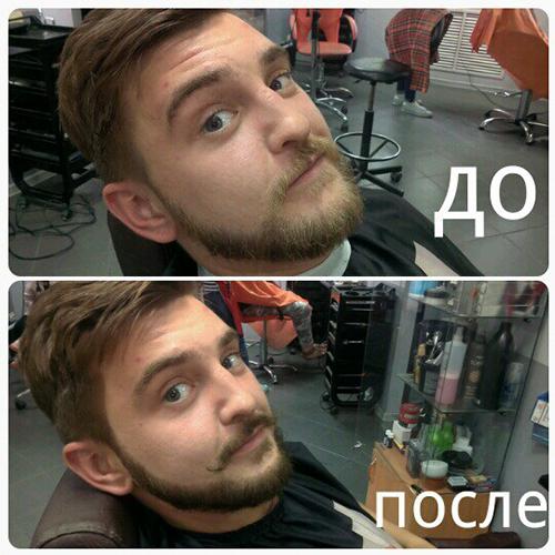 Фото до и после тонировки