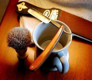 инструменты для королевского бритья