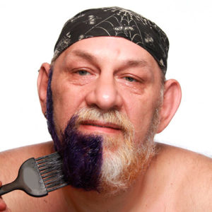 повторная покраска бороды