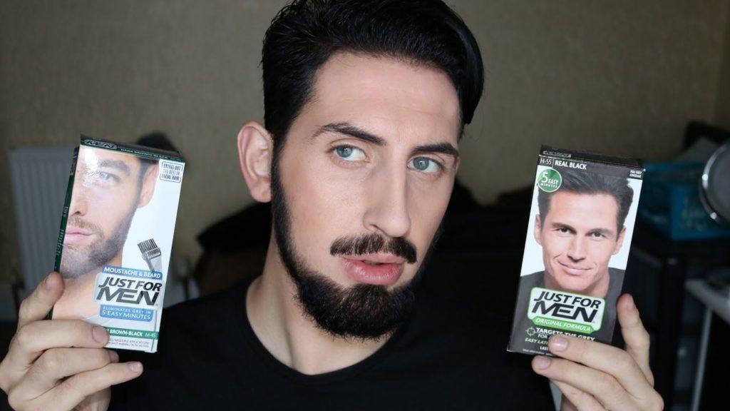 средства для окрашивания бороды