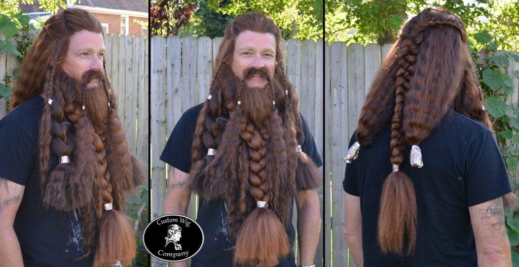 стиль борода косичка