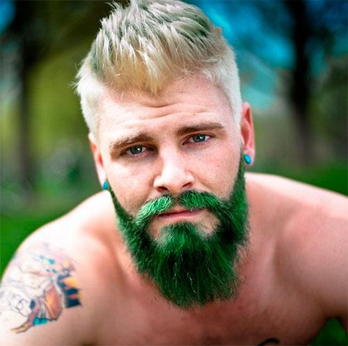 уход за окрашенно бородой