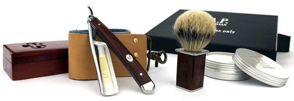 Как бриться, используя помазок