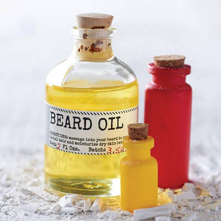 как сделать масло для бороды