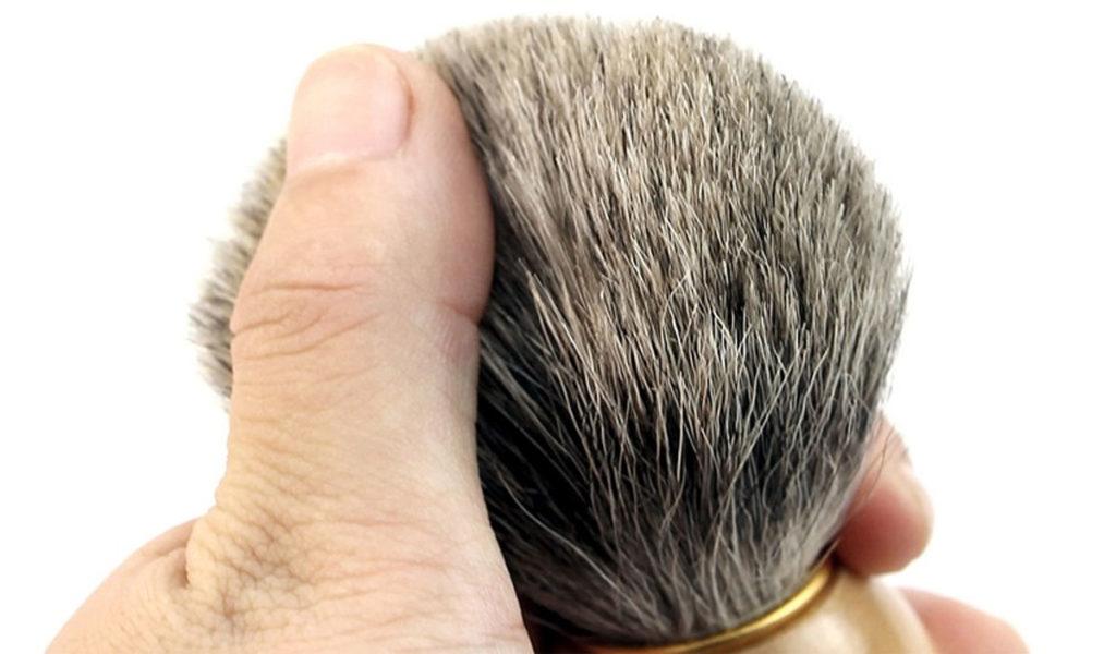 Как сделать помазок для бритья своими руками
