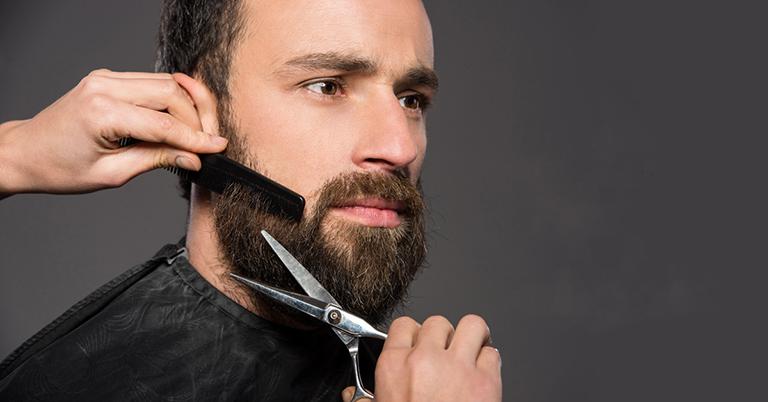 Как правильно подстричь бороду ножницами