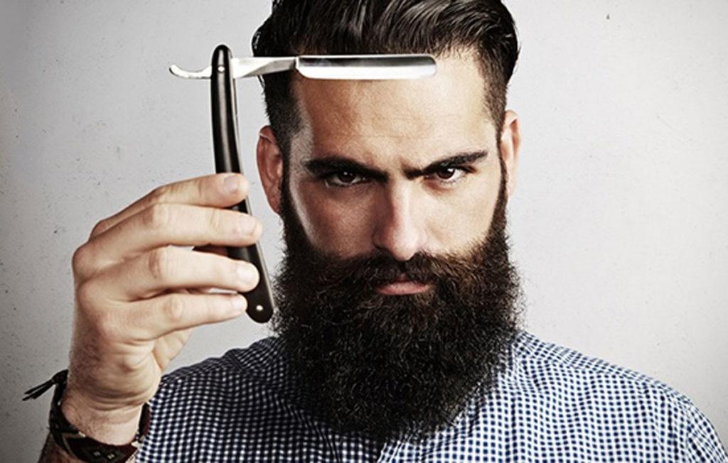 опасная бритва для бритья бороды