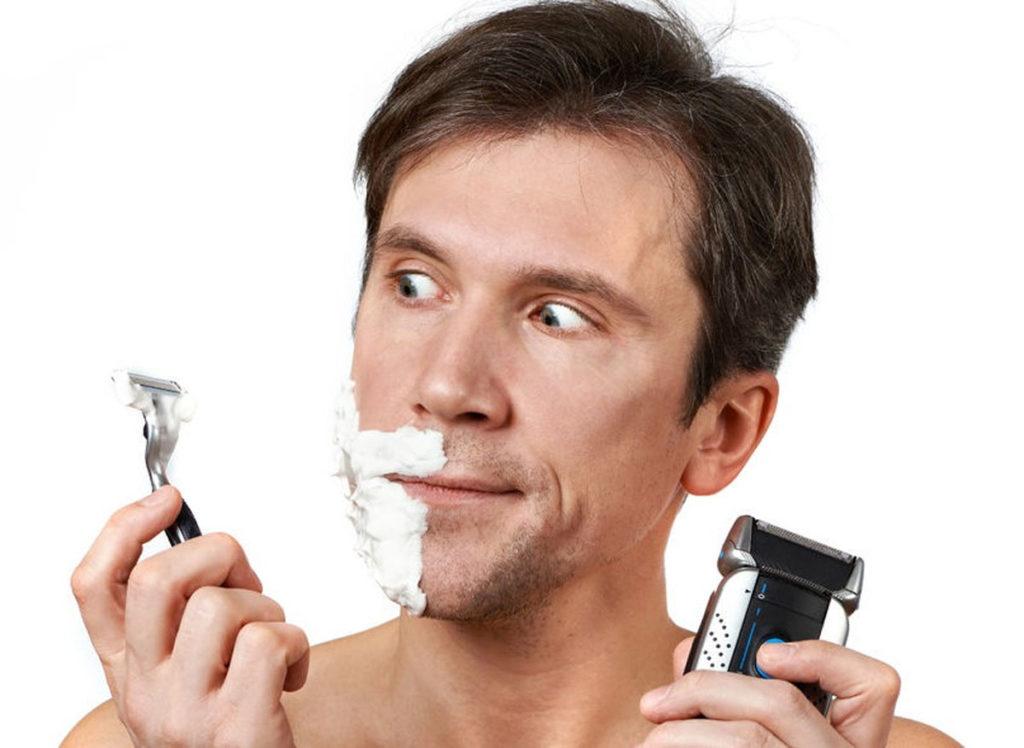 Поздравление с бритвой