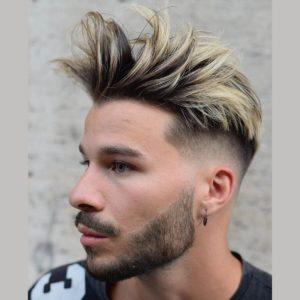 мужское окрашивание волос Балаяж