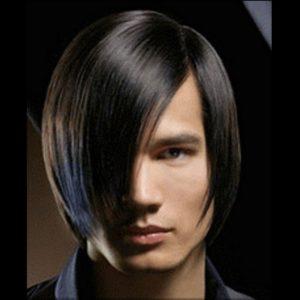 Длинные волосы Челка с пробором