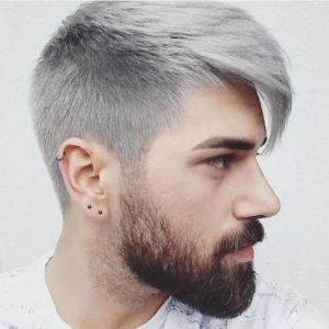 Мужское окрашивание волос Пепельное окрашивание