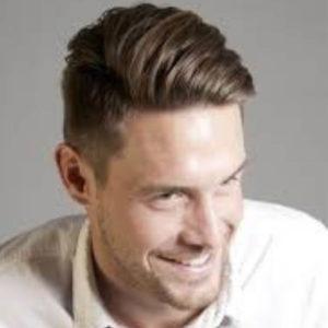 Мужская стрижка для тонких волос Полька