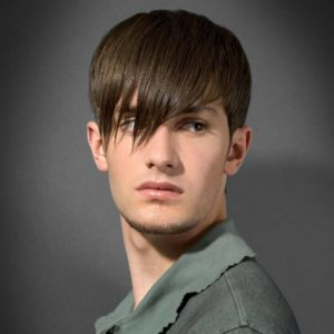 Мужская стрижка для тонких волос Стрелец