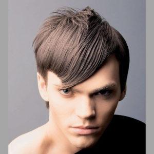 прическа для жестких волос асимметрия