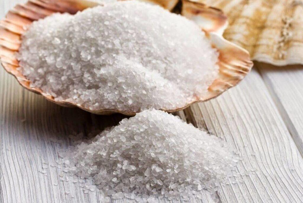 соль как народные средства от облысения у мужчин