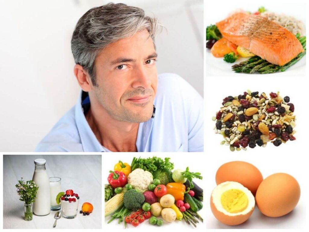 рациональное питание как профилактика поседения