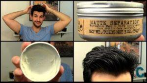 как пользоваться мужской пастой для волос