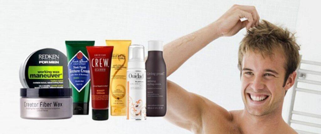 разнообразие средств для укладки волос