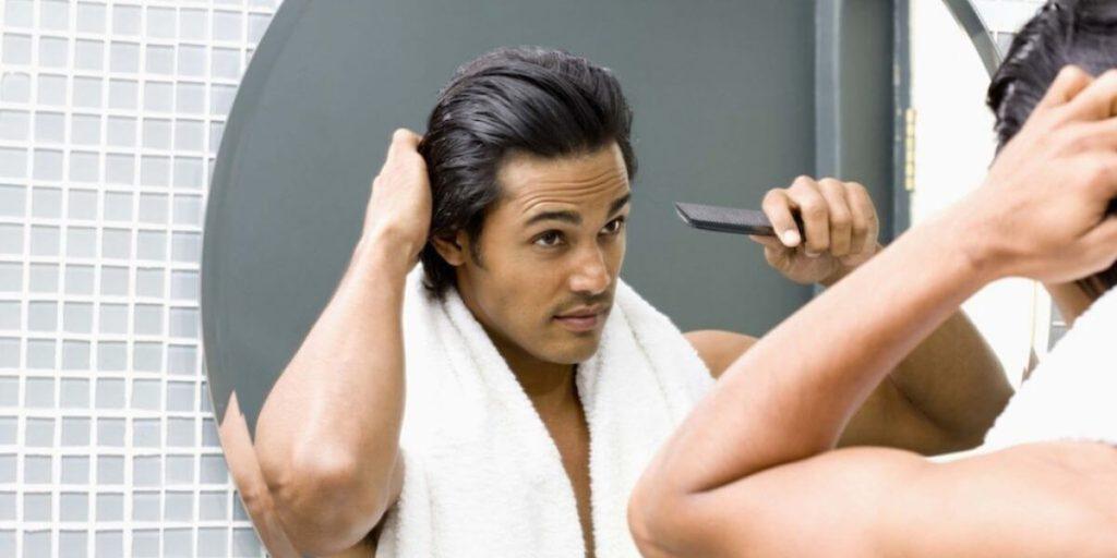 использование кондиционера для волос