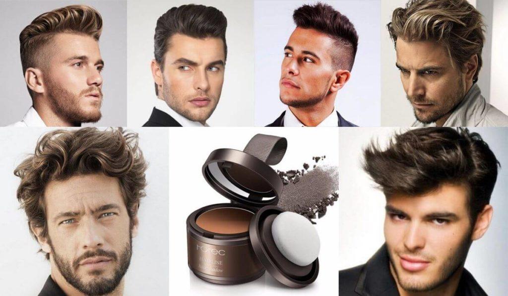 мужская пудра для волос