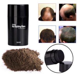 применение пудры для волос