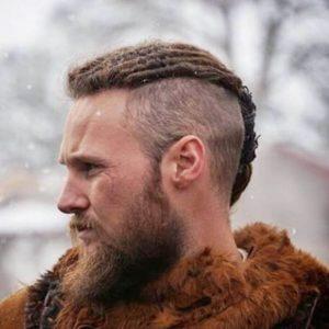 мужские прически викингов на короткие волосы