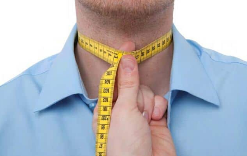 Как правильно измерить ворот рубашки.