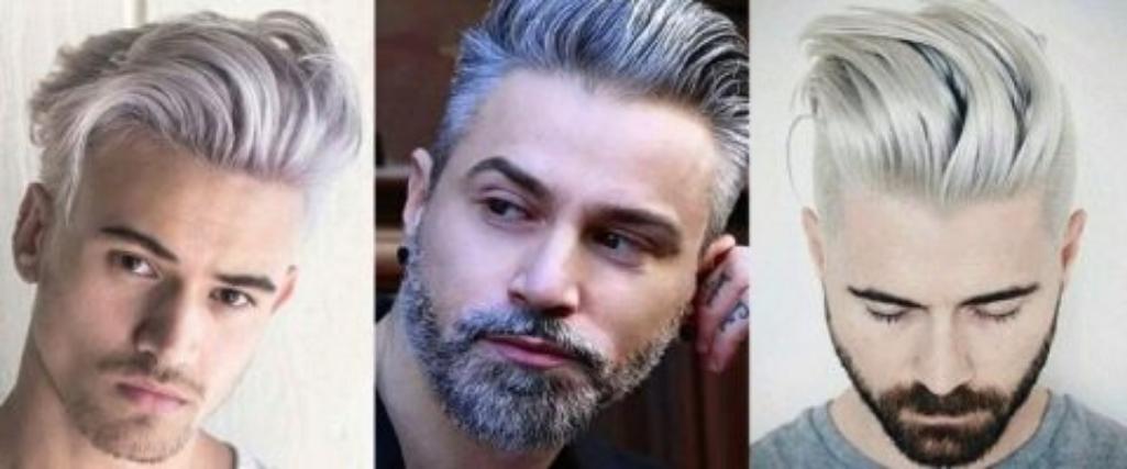 Мужчины с осветленными волосами