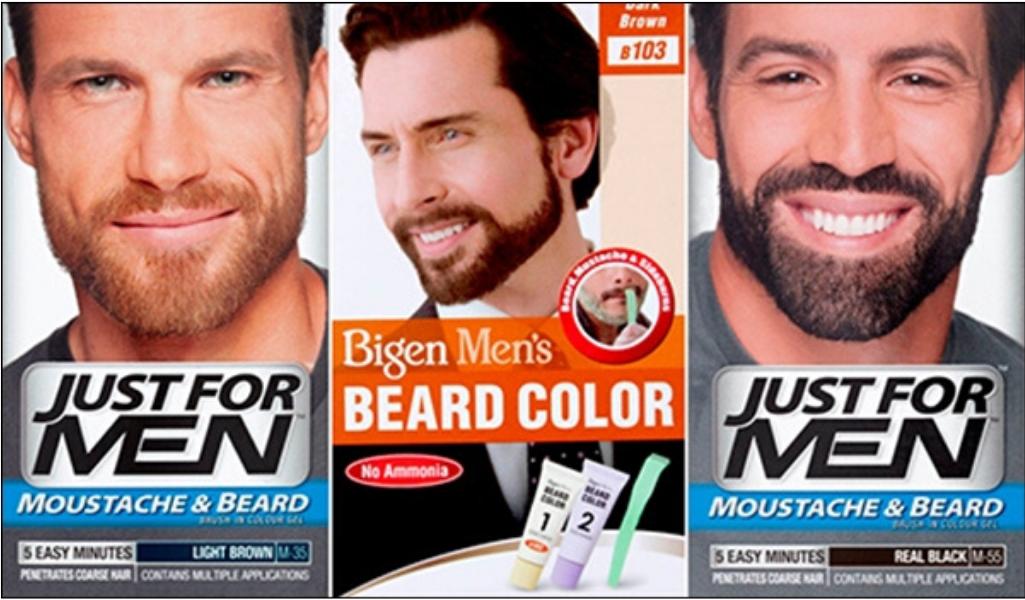 Краски для бороды