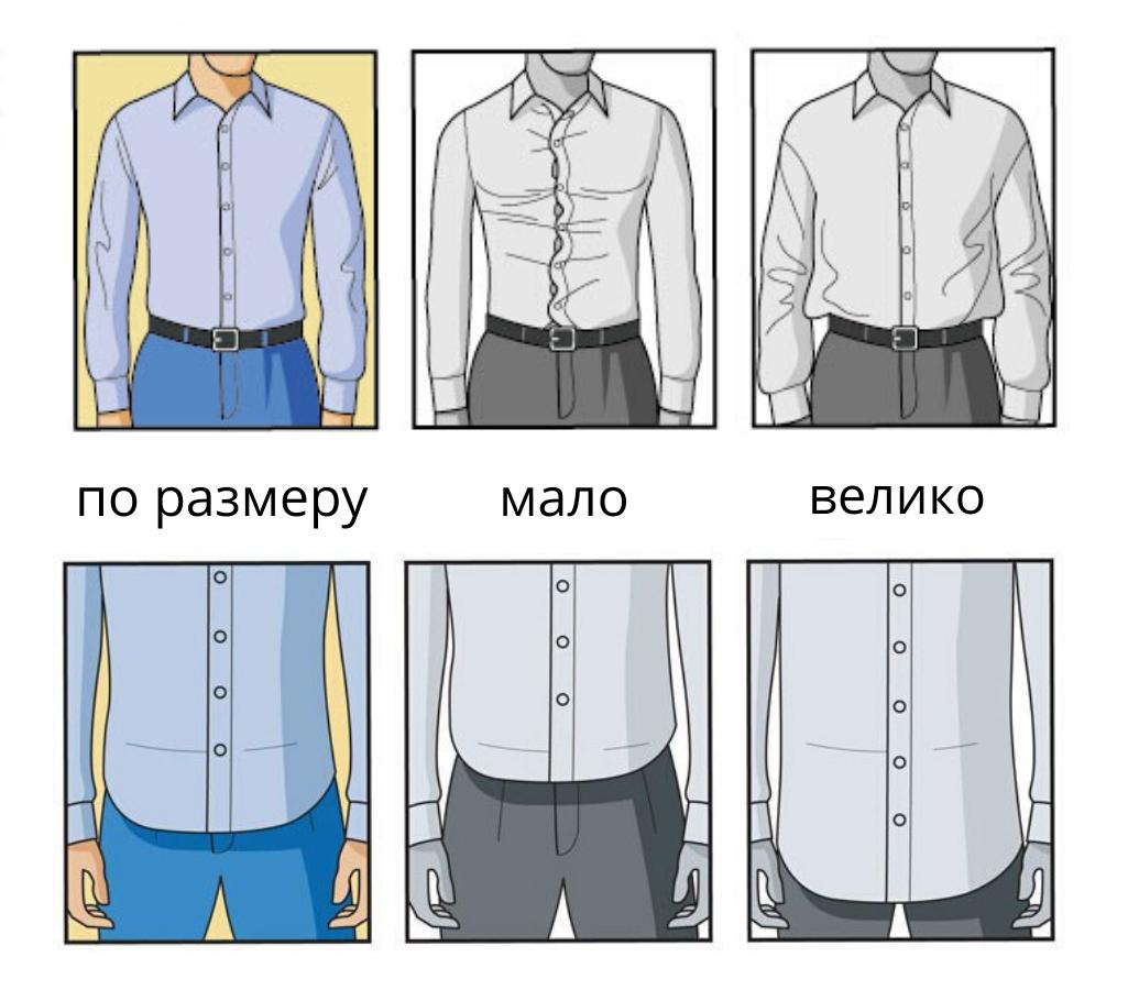 Как правильно выбрать рубашку