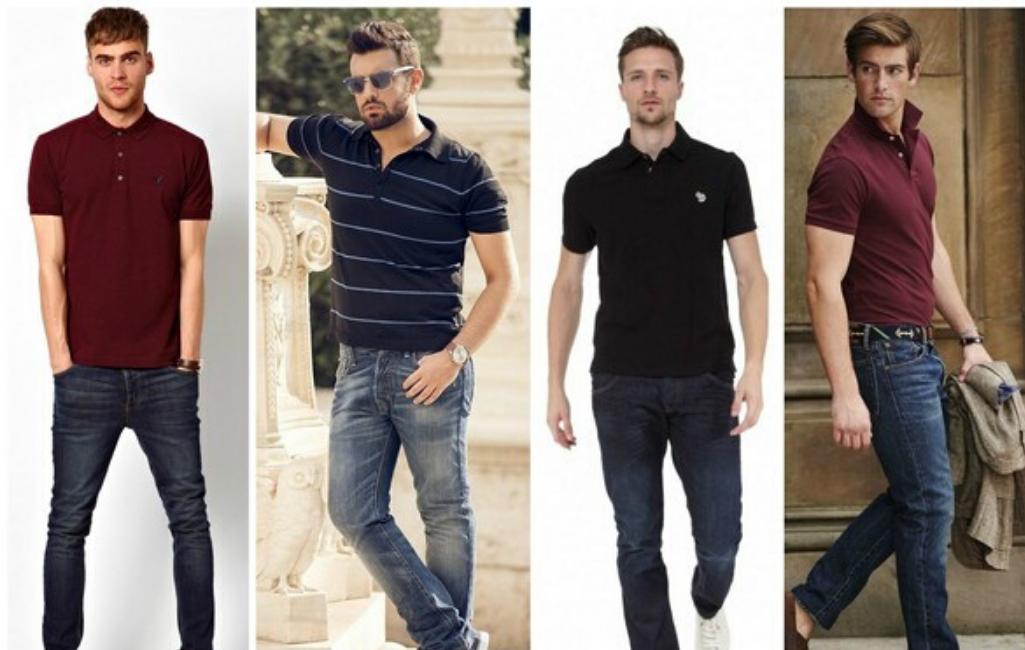 Мужчины в рубашках поло