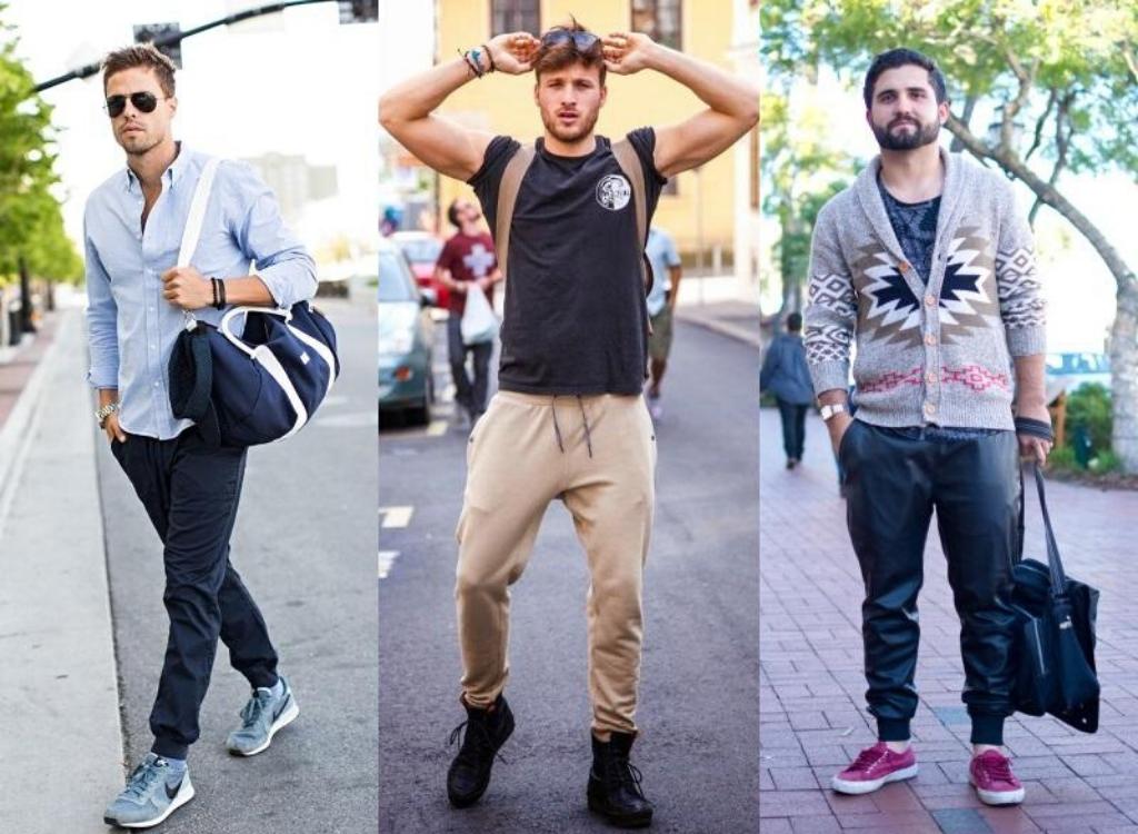 Мужчины в джоггерах