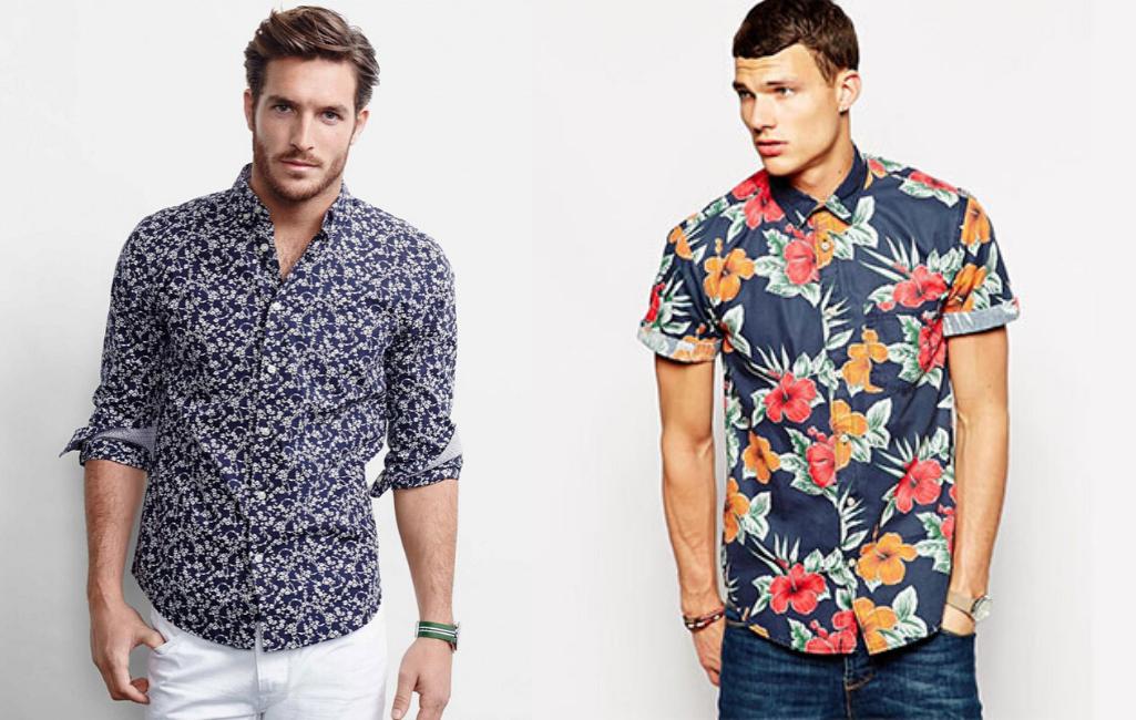Мужчины в гавайских рубашках