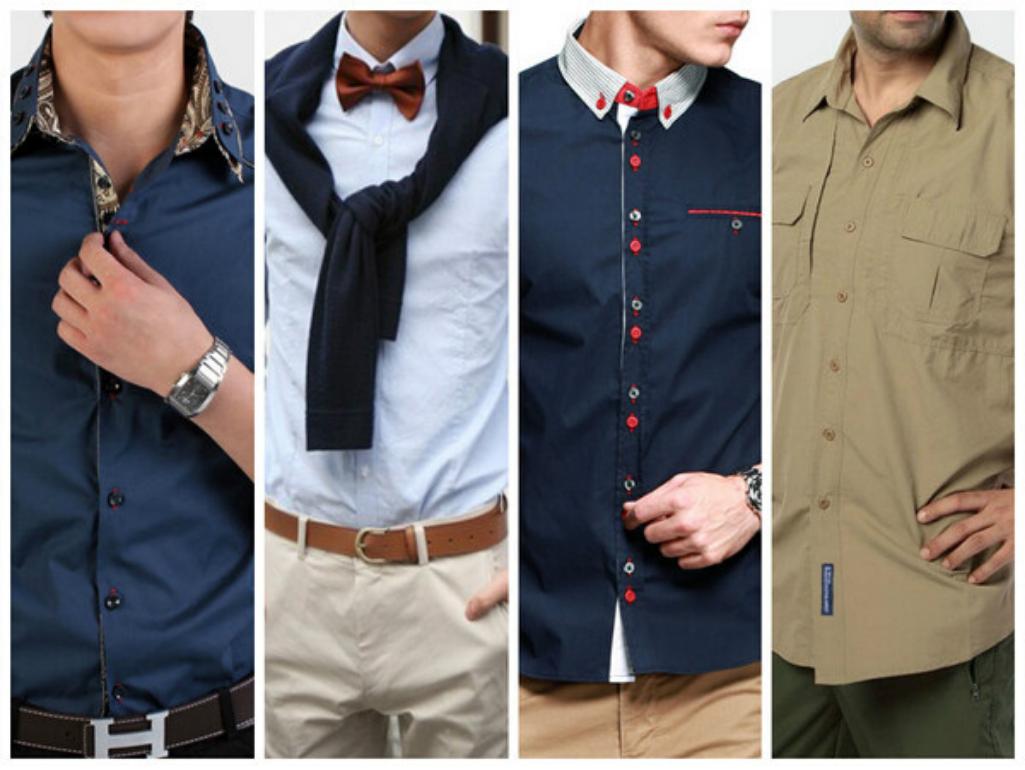 Рубашки разных стилей