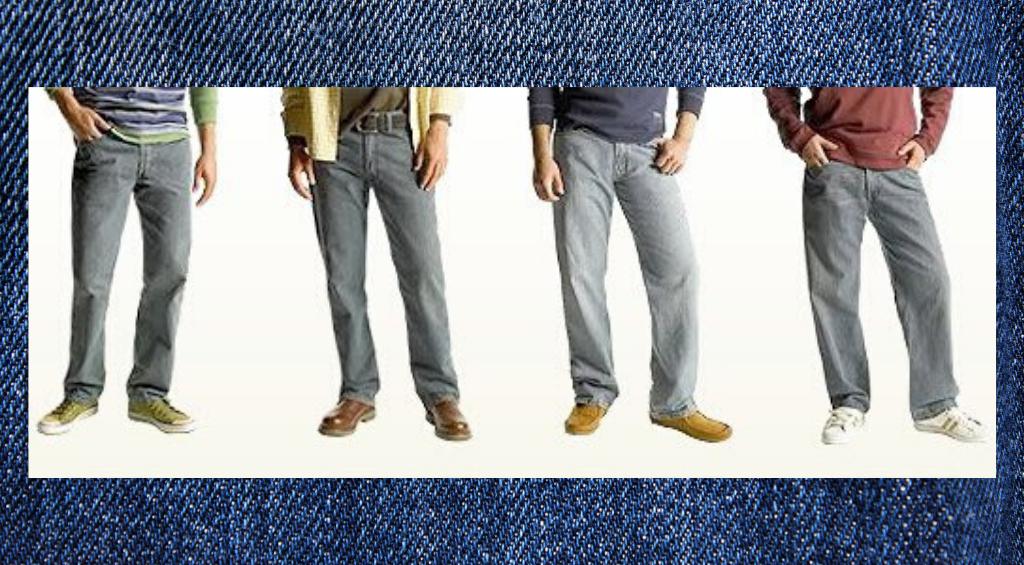 Фасоны мужских джинсов
