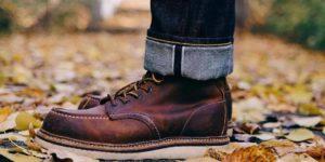 Одинарный подворот на джинсах