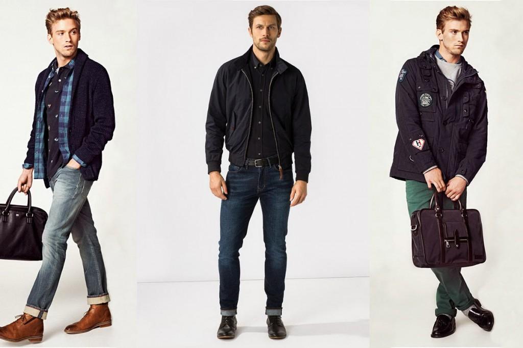 Мужчины в джинсах