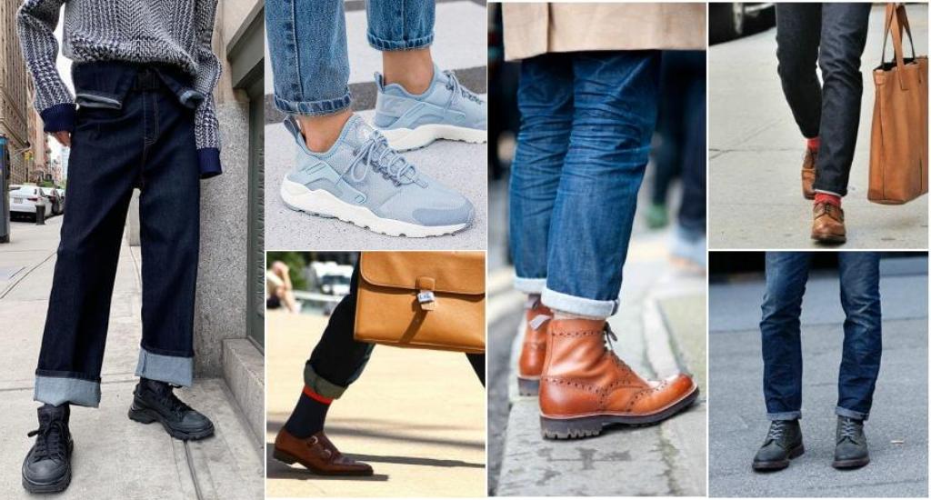 Подвороты на мужских джинсах