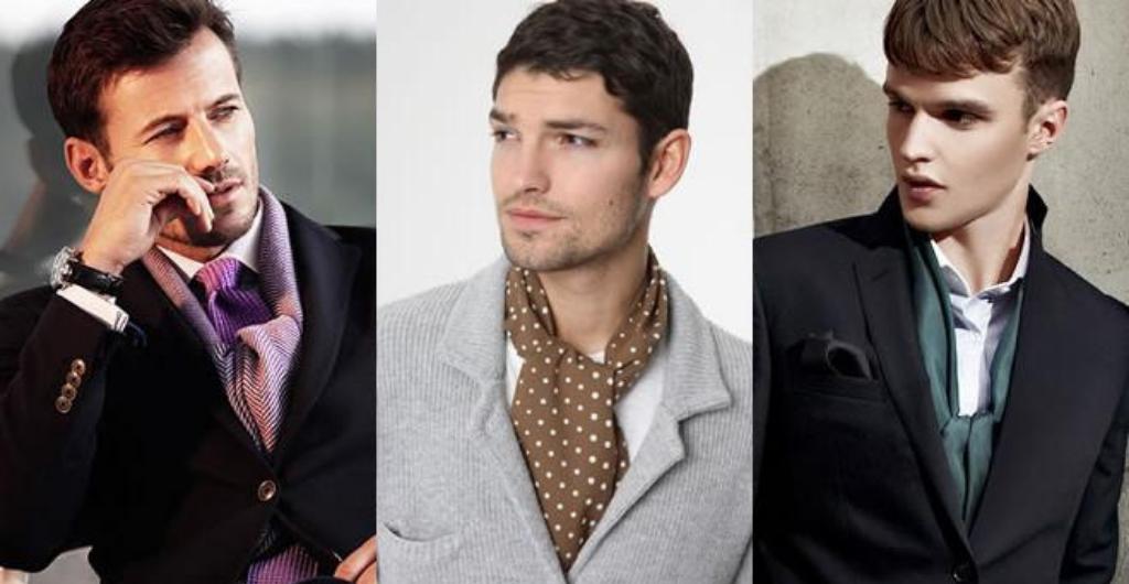 Мужчины с шейными платками