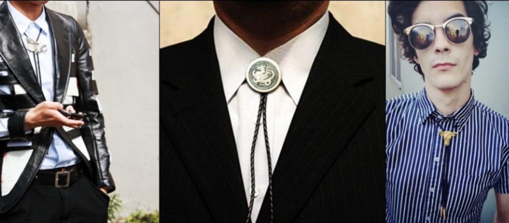 Мужчины в галстуках боло