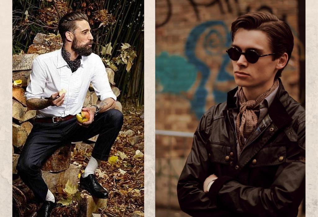Мужчины в шейных платках