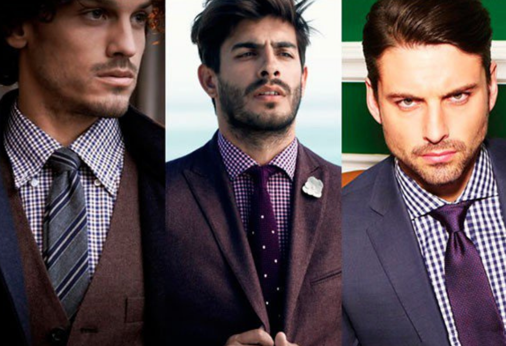 Мужчины в тонких галстуках