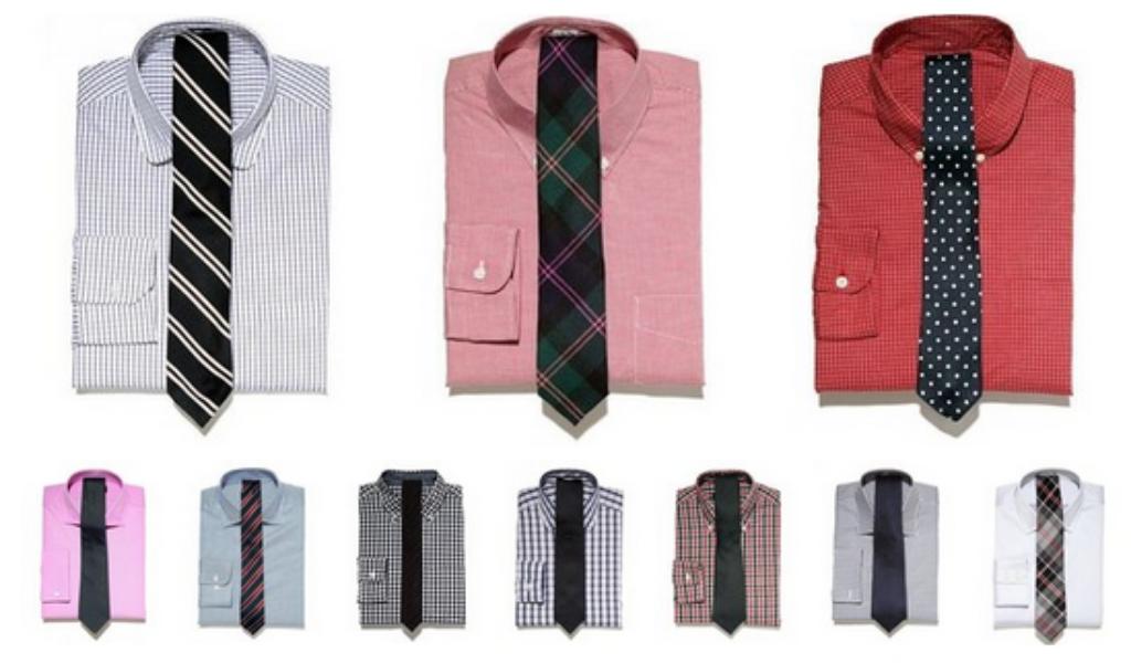 Рубашки с галстуком