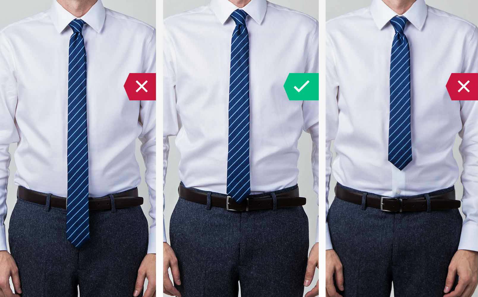 Мужчины в рубашке с галстуком
