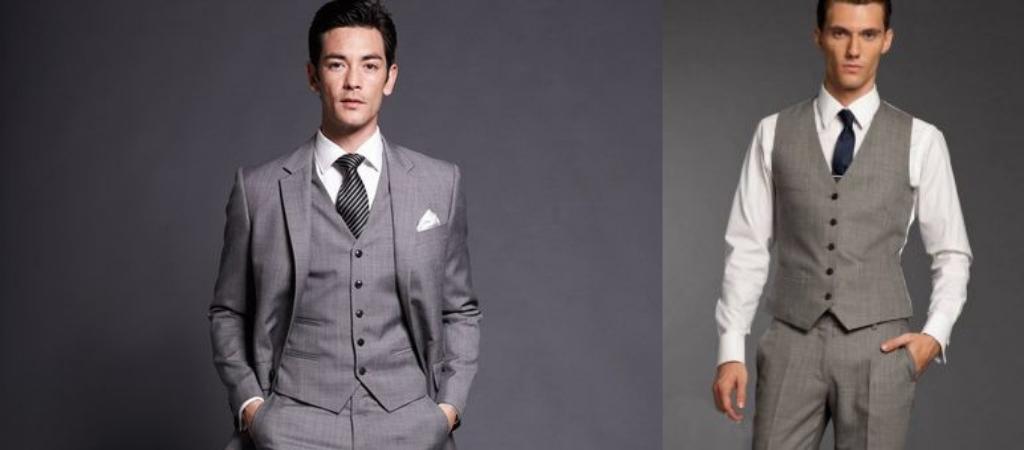 Мужчины в костюме и галстуке